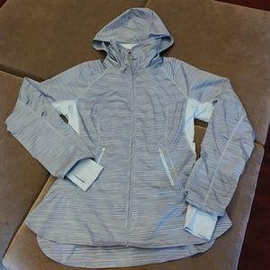 Lululemon lightweight zip up jacket